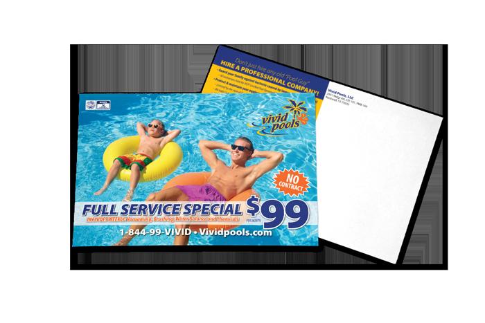 Custom Designed Postcard Samples