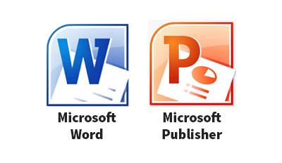 Microsoft Word Door Hanger Template from 3000doorhangers.com